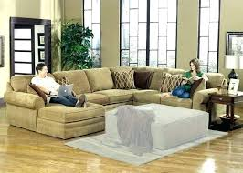u shaped sectional with chaise and recliner l broken white leather sofa small sofas recliners large