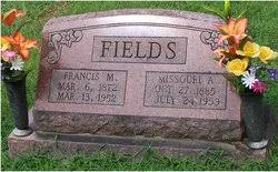 Francis Marion Fields (1872-1952) - Find A Grave Memorial