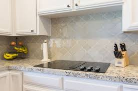 backsplash for bianco antico granite. Arabesque Tile Backsplash 6 Amazing Designs From Kitchencrate For Bianco Antico Granite ,