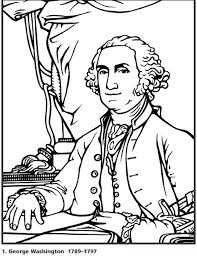 Small Picture Presidents Coloring Page