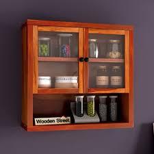 wooden kitchen shelves india