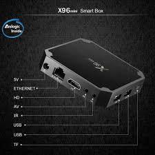 TV- & Heim-Audio-Zubehör 8GB H X96 MINI Quad Core Android 7.1.2 Smart TV BOX  4K 3D Media Player WIFI 1GB TV, Video & Audio blowmind.com.br