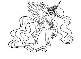 7ess8w4 my little pony princess celestia coloring pages getcoloringpages com on princess celestia coloring
