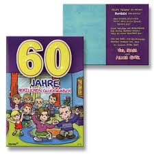 Sprüche Geburtstagskarten 60 Geburtstag