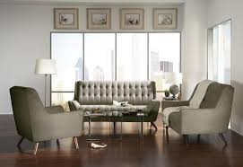 Retro Living Room 503771 3 Pieces Natalia Grey Retro Living Room Sofa Set Furniture