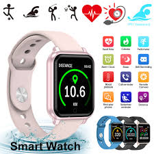 T70 Smart Watch Heart Rate Tracker IP67 Waterproof Fitness ...