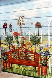 Painted Fences best 25 fence painting ideas fence art garden 1041 by xevi.us