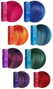 Bright Hair Color Chart Ion Color Brilliance Cruelty Free And Possibly Vegan Silk