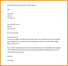 Cease And Desist Order Template Letter To Former Employee Download