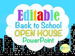 Open House Powerpoint Editable Superhero City Back To School Open House Meet The