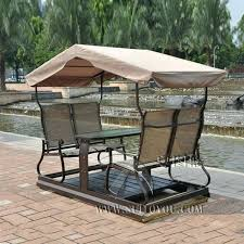 outdoor chair swing modern 4 seats right left movable outdoor swing chair hammock furniture with outdoor chair swing