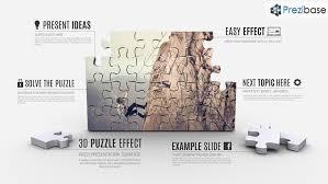 d puzzle effect prezi template prezibase 3d jigsaw puzzle presentation prezi template ffect