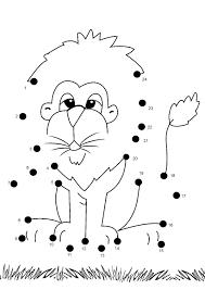 Printable Dot To Dot Worksheets For Kindergarten - Printable 360 ...