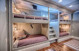 22 Cool Designs Of Bunk Beds For Four Home Design Lover 4 Bed Bunk Bed