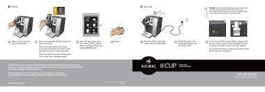 keurig k cup k150p setup manual pdf