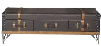 hotel club american classic leather trunk coffee table leather furniture designers dedicated mobile tv cabinet in bar tables from furniture on bar trunk furniture