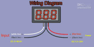 automotive voltmeter wiring diagram automotive wiring diagram voltmeter car wiring image wiring on automotive voltmeter wiring diagram