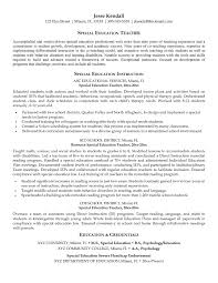 Teaching Assistant Resume Example Free For Download Special