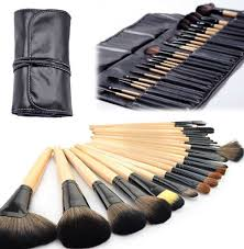 professional 24 piece makeup brush set with case save 87 just 22