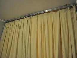 ceiling mount curtain track home depot modern design for tracks idea 14