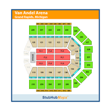 Van Andel Arena Seating Chart Wrestling Van Andel Arena Events And Concerts In Grand Rapids Van
