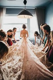 Rose Wedding Dress Designer Real Weddings Meet Marjorie Carol Hannah