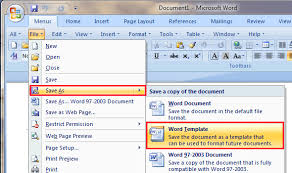 word templates 2007 where to save download and install template in word 2007 2010