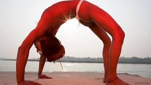 urdhva dhanurasana from on yoga by michael o neill
