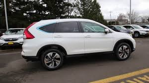 2016 honda crv white. Contemporary White 2016 Honda CRV Touring  Diamond White GL045850 Seattle Renton   YouTube Intended Crv 6