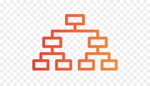 Organization Chart Vector Orange Background Png Download 512 512 Free Transparent