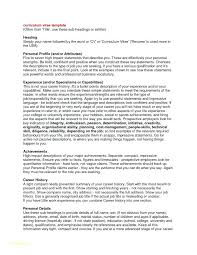 Example Of A Profile For A Resumes Profile Resume Example Career Profile Lily Profile Resume Examples