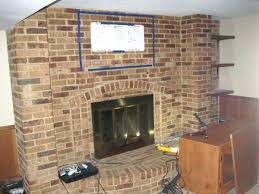 mounting tv above brick fireplace inspirational mounting tv brick fireplace
