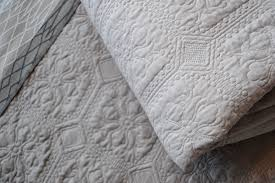 Classic Quilted Bedspreads | 4 Colours | Natural Bed Company & putty & stone - classic quilted bedspreads Adamdwight.com