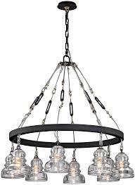 troy f6056 menlo park contemporary deep bronze 33 nbsp lighting chandelier loading zoom