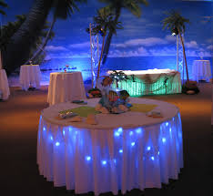 beach theme lighting. Beach Birthday Party- Here\u0027s A Great Example Of 2 Kinds Under Table  Lighting. Beach Theme Lighting