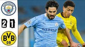 Manchester City vs Borussia Dortmund 2-1 Highlights | UEFA Champions League  - 2021 - YouTube