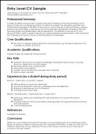 Entry Level Resume Template Free Entry Level Resume Template Microsoft Word It Sample Templates