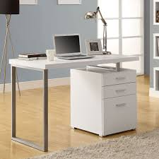 monarch specialties 7027 48 inch left or right facing desk in white hollow core