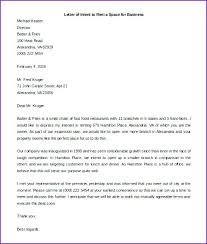 Other Size S Business Letter Of Intent Sample Template