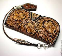 Мужской кожаный кошелек в ковбойском стиле Шеридан ...