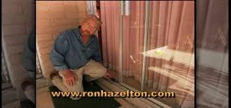 how to adjust repair sliding patio doors construction repair wonderhowto