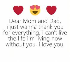 dear mom and dad i just wanna thank you for everything i can t live the life i m living now without you i love you meme on sizzle
