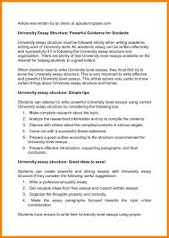 perfect essay structure nuvolexa essay writing at university level types of business letters and perfect structure example how to write