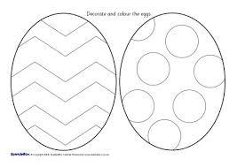 Easter Egg Colouring Sheets Sb1230 Sparklebox