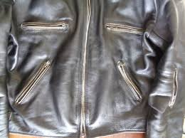 a photograph showing the manly aesthetics of the old style jacket from iguana custom collection and