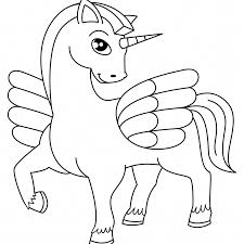 Unicorn Head Coloring Pages With Unicorn Coloring Pages Free