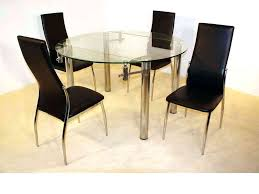 full size of large round glass top dining table and chairs clear 4 kitchen delectable glas