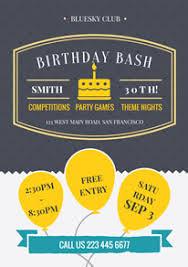 Flyer Design Free Free Birthday Poster Flyer Designs Designcap Poster Flyer Maker