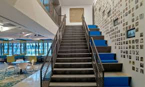 Office Stairs Moving And Connecting People Office Staircases Chargespot