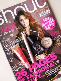 free barry m makeup with shout magazine